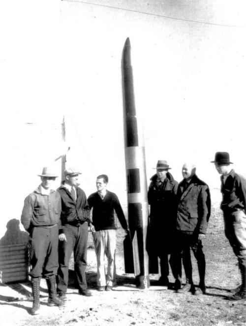 Spunk rocket tube